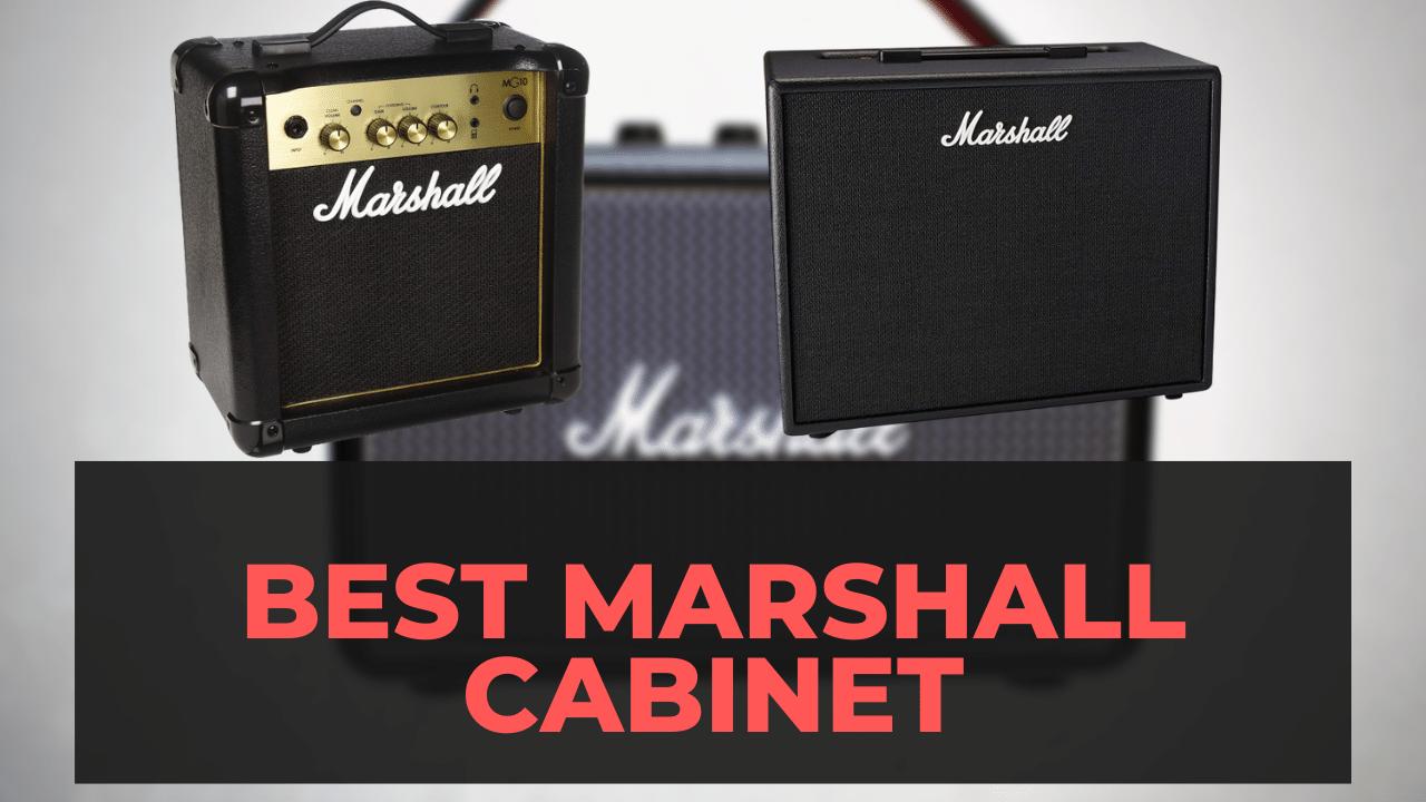Best Marshall Cabinet