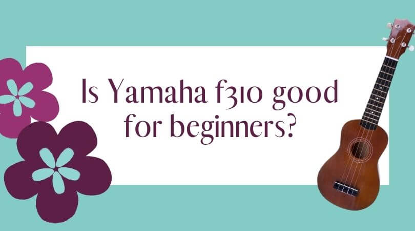 Is Yamaha f310 good for beginners