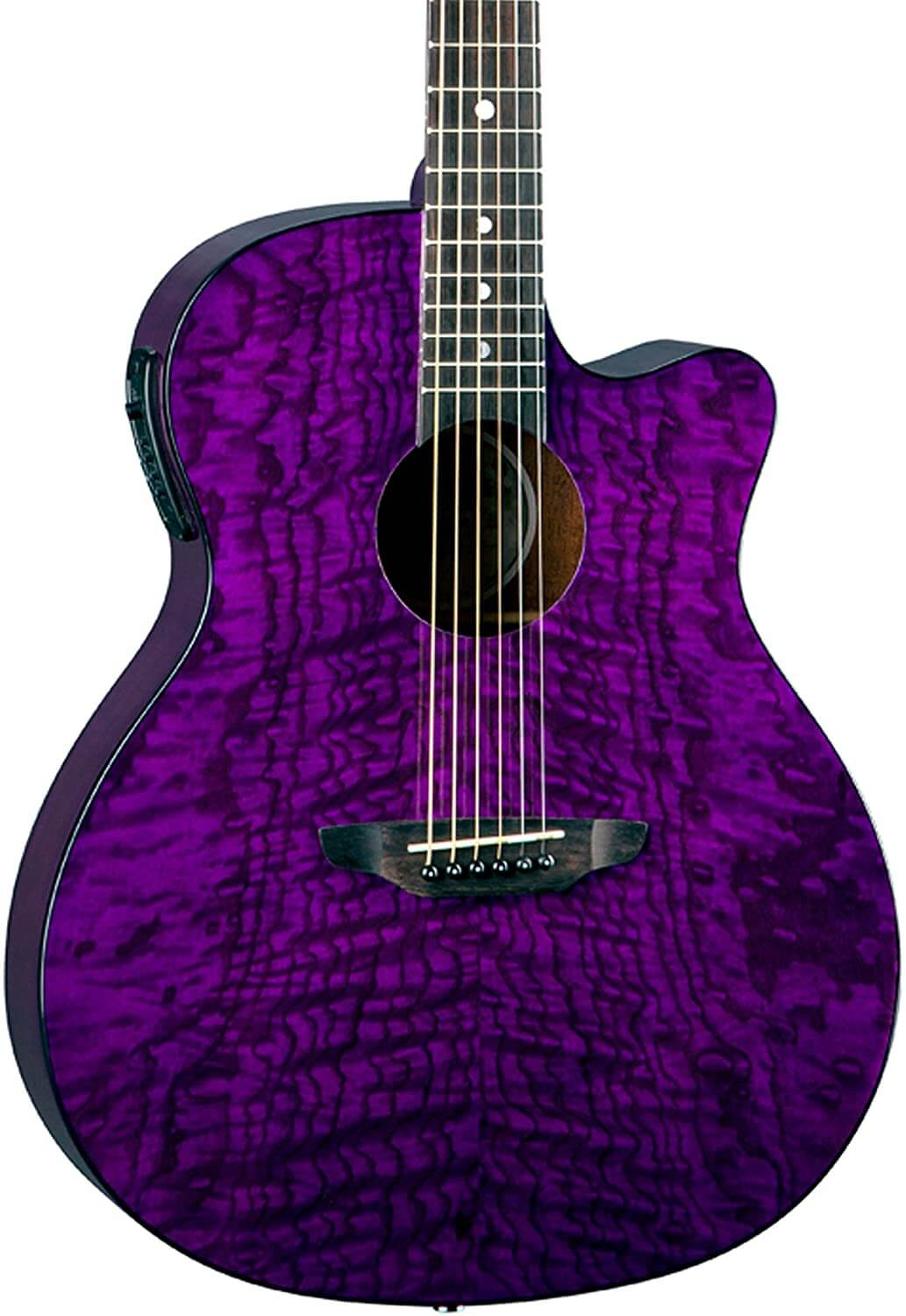 Luna Gypsy Quilt Top – Acoustic/Electric Guitar