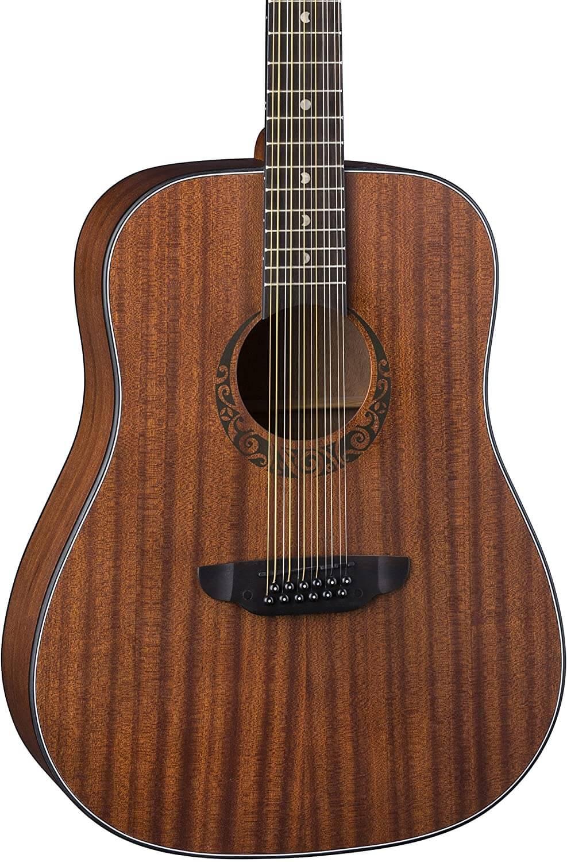 Luna Gypsy Dreadnought Guitar – 12-String