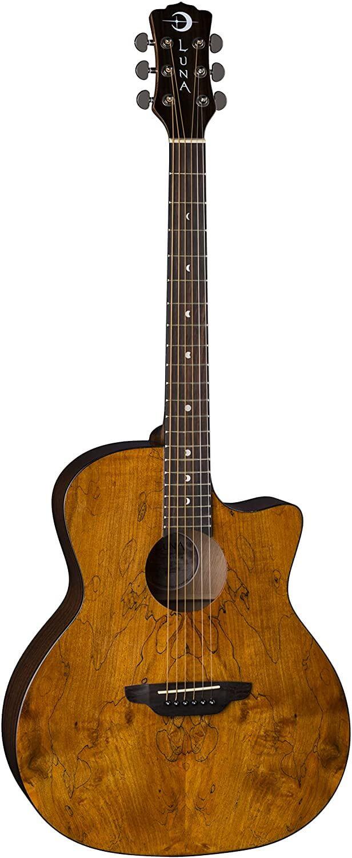 Luna Gypsy Grand Auditorium Guitar