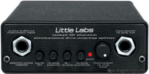 Little Labs Redeye Reamp and Direct box