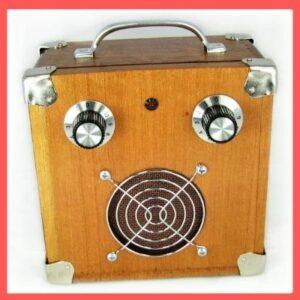 C.B. Gitty Cigar Box Amplifier